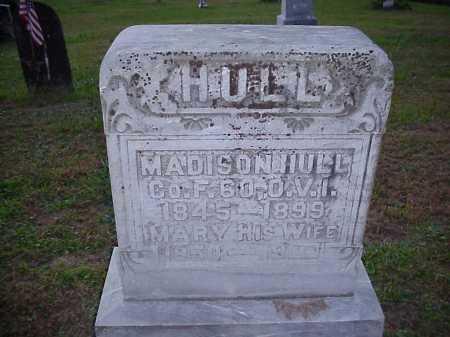 HULL, MARY - Meigs County, Ohio | MARY HULL - Ohio Gravestone Photos