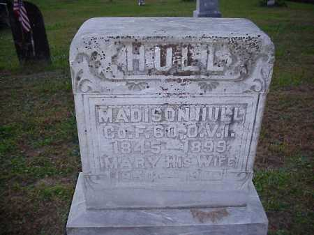 HULL, MADISON - Meigs County, Ohio | MADISON HULL - Ohio Gravestone Photos