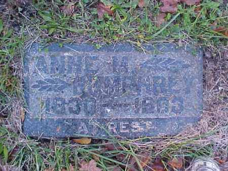 HUMPHREY, ANNIE M. - Meigs County, Ohio | ANNIE M. HUMPHREY - Ohio Gravestone Photos