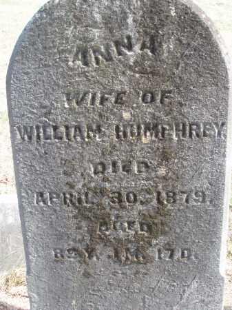 HUMPHREY, ANNA - Meigs County, Ohio | ANNA HUMPHREY - Ohio Gravestone Photos