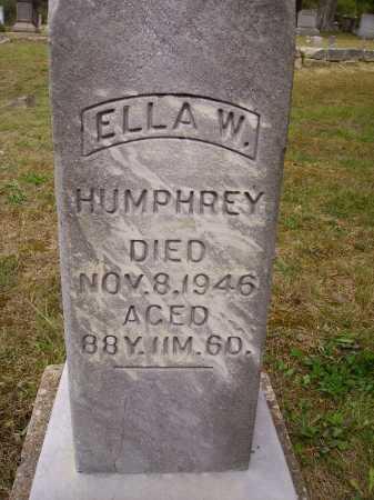 WINN HUMPHREY, ELLA W. - Meigs County, Ohio | ELLA W. WINN HUMPHREY - Ohio Gravestone Photos