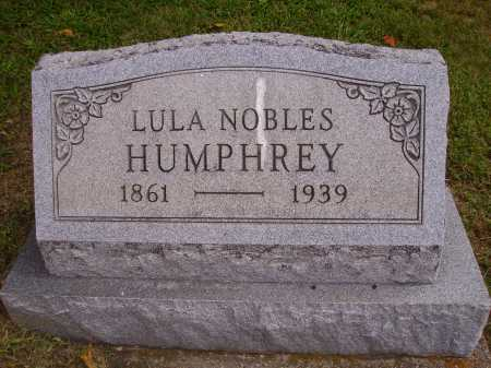 HUMPHREY, LULA - Meigs County, Ohio | LULA HUMPHREY - Ohio Gravestone Photos