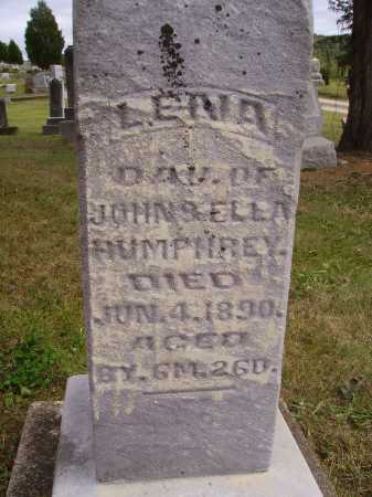 HUMPHREY, LENA - Meigs County, Ohio | LENA HUMPHREY - Ohio Gravestone Photos
