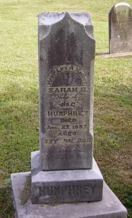 COOK HUMPHREY, SARAH B. - OVERALL VIEW - Meigs County, Ohio | SARAH B. - OVERALL VIEW COOK HUMPHREY - Ohio Gravestone Photos