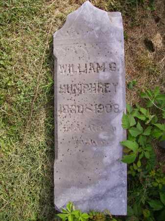 HUMPHREY, WILLIAM G. - Meigs County, Ohio | WILLIAM G. HUMPHREY - Ohio Gravestone Photos