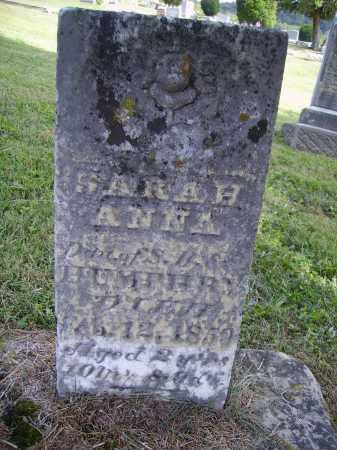 HUMPHRY, SARAH ANNA - Meigs County, Ohio | SARAH ANNA HUMPHRY - Ohio Gravestone Photos