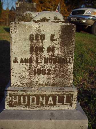 HUNDALL, GEO. E. - Meigs County, Ohio | GEO. E. HUNDALL - Ohio Gravestone Photos