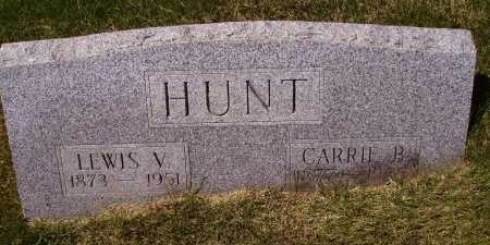 BARTON HUNT, CARRIE B. - Meigs County, Ohio | CARRIE B. BARTON HUNT - Ohio Gravestone Photos