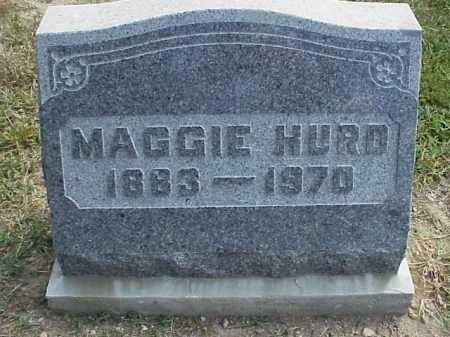 HURD, MAGGIE - Meigs County, Ohio | MAGGIE HURD - Ohio Gravestone Photos