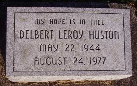 HUSTON, DELBERT LEROY - Meigs County, Ohio | DELBERT LEROY HUSTON - Ohio Gravestone Photos