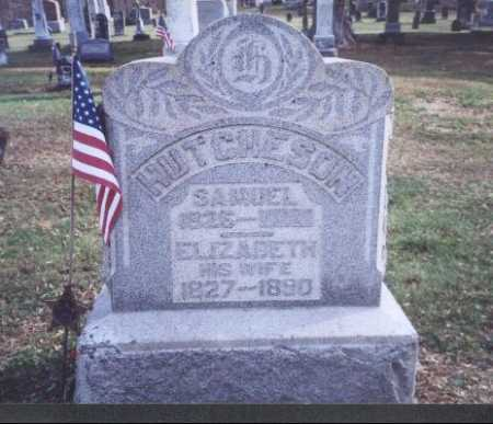 HUTCHESON, SAMUEL - Meigs County, Ohio | SAMUEL HUTCHESON - Ohio Gravestone Photos