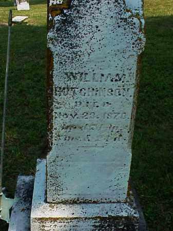 HUTCHINSON, WILLIAM - Meigs County, Ohio | WILLIAM HUTCHINSON - Ohio Gravestone Photos