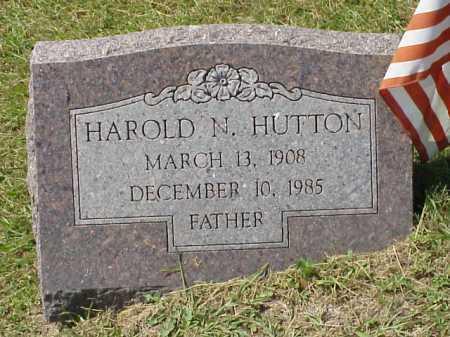 HUTTON, HAROLD N. - Meigs County, Ohio | HAROLD N. HUTTON - Ohio Gravestone Photos
