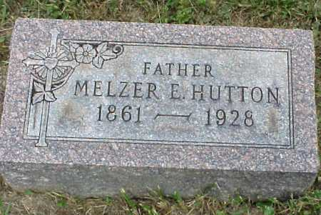 HUTTON, MELZER E. - Meigs County, Ohio | MELZER E. HUTTON - Ohio Gravestone Photos