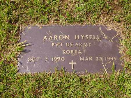 HYSELL, AARON - Meigs County, Ohio | AARON HYSELL - Ohio Gravestone Photos