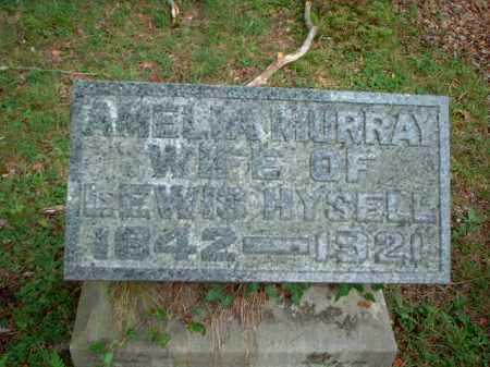 MURRAY HYSELL, AMELIA - Meigs County, Ohio | AMELIA MURRAY HYSELL - Ohio Gravestone Photos