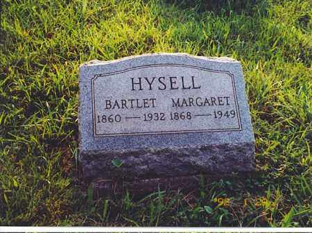 HYSELL, BARTLET - Meigs County, Ohio | BARTLET HYSELL - Ohio Gravestone Photos