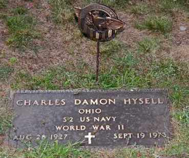 HYSELL, CHARLES DAMON - Meigs County, Ohio | CHARLES DAMON HYSELL - Ohio Gravestone Photos