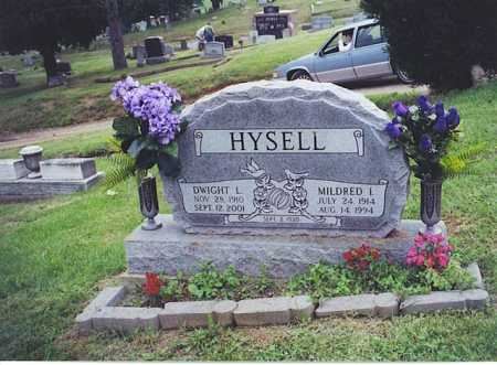 HYSELL, MILDRED L. - Meigs County, Ohio | MILDRED L. HYSELL - Ohio Gravestone Photos