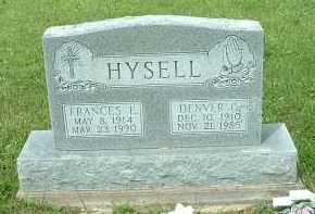 HYSELL, DENVER GUY - Meigs County, Ohio | DENVER GUY HYSELL - Ohio Gravestone Photos