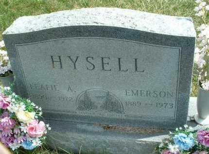 HYSELL, EMERSON - Meigs County, Ohio | EMERSON HYSELL - Ohio Gravestone Photos