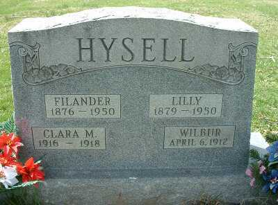 HYSELL, LILLIAN GAY - Meigs County, Ohio | LILLIAN GAY HYSELL - Ohio Gravestone Photos
