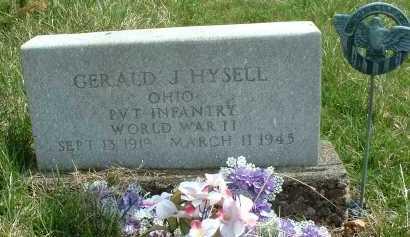 HYSELL, GERALD J. - Meigs County, Ohio | GERALD J. HYSELL - Ohio Gravestone Photos