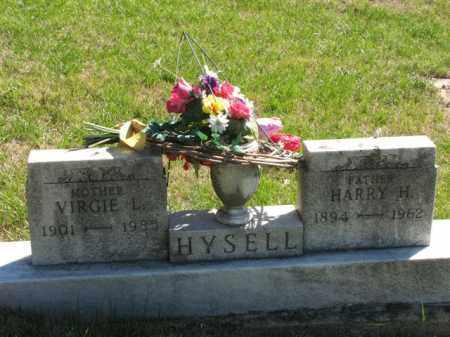 HYSELL, VIRGIE L. - Meigs County, Ohio | VIRGIE L. HYSELL - Ohio Gravestone Photos