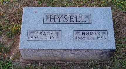 HYSELL, HOMER O. - Meigs County, Ohio | HOMER O. HYSELL - Ohio Gravestone Photos