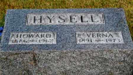 HYSELL, VERNA - Meigs County, Ohio | VERNA HYSELL - Ohio Gravestone Photos