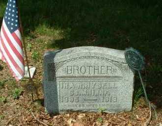 HYSELL, IRA R. - Meigs County, Ohio   IRA R. HYSELL - Ohio Gravestone Photos