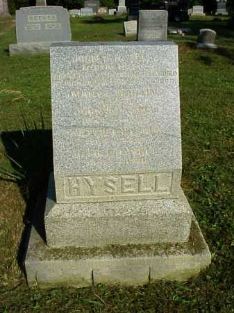 HYSELL, JOHN ALLISON - Meigs County, Ohio | JOHN ALLISON HYSELL - Ohio Gravestone Photos