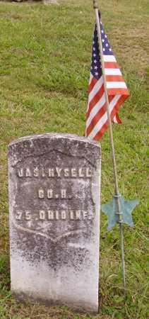 HYSELL, JAMES - Meigs County, Ohio | JAMES HYSELL - Ohio Gravestone Photos