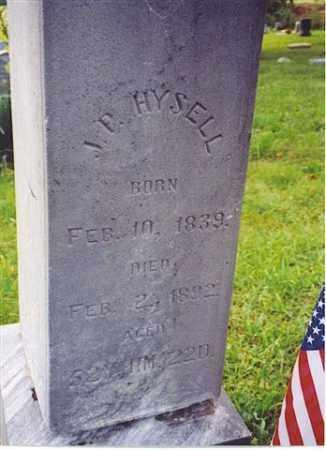 HYSELL, J.P. - Meigs County, Ohio | J.P. HYSELL - Ohio Gravestone Photos