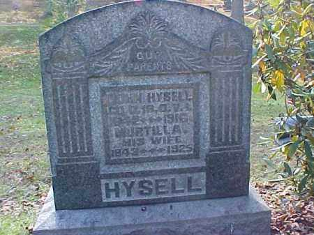 LEWIS HYSELL, MURTILLA - Meigs County, Ohio | MURTILLA LEWIS HYSELL - Ohio Gravestone Photos