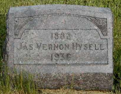 HYSELL, JAS VERNON - Meigs County, Ohio | JAS VERNON HYSELL - Ohio Gravestone Photos