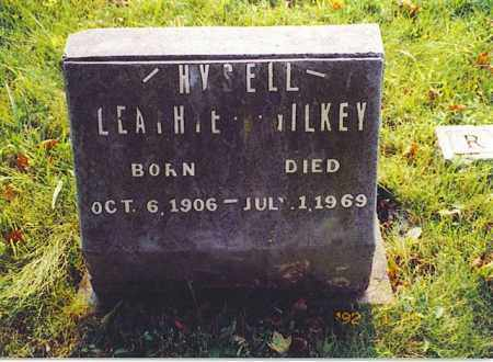GILKEY HYSELL, LEATHIE - Meigs County, Ohio | LEATHIE GILKEY HYSELL - Ohio Gravestone Photos