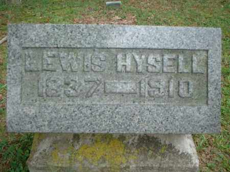 HYSELL, LEWIS - Meigs County, Ohio | LEWIS HYSELL - Ohio Gravestone Photos
