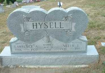 HYSELL, LAWRENCE ASHTON - Meigs County, Ohio | LAWRENCE ASHTON HYSELL - Ohio Gravestone Photos