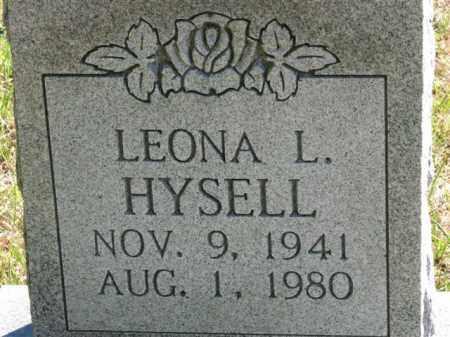 HYSELL, LEONA L. - Meigs County, Ohio | LEONA L. HYSELL - Ohio Gravestone Photos