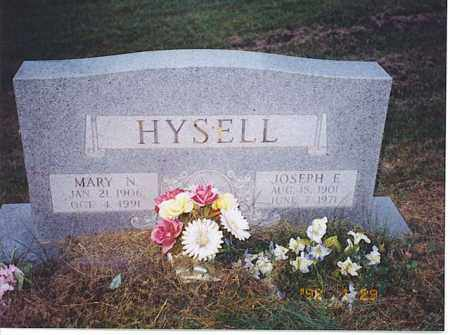 HYSELL, MARY N. - Meigs County, Ohio | MARY N. HYSELL - Ohio Gravestone Photos