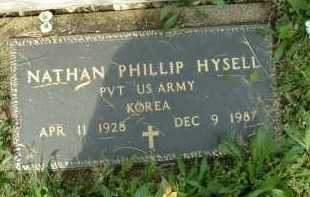 HYSELL, NATHAN PHILLI[ - Meigs County, Ohio | NATHAN PHILLI[ HYSELL - Ohio Gravestone Photos