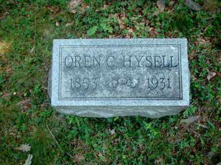 HYSELL, OREN C. - Meigs County, Ohio | OREN C. HYSELL - Ohio Gravestone Photos