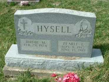 HYSELL, BIRDIE M. - Meigs County, Ohio | BIRDIE M. HYSELL - Ohio Gravestone Photos