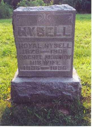 MORROW HYSELL, RACHEL - Meigs County, Ohio | RACHEL MORROW HYSELL - Ohio Gravestone Photos