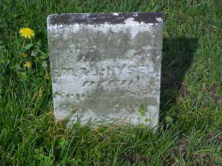 HYSELL, THELMA - Meigs County, Ohio | THELMA HYSELL - Ohio Gravestone Photos