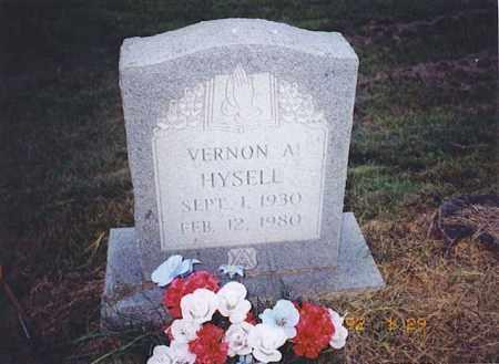 HYSELL, VERNON A. - Meigs County, Ohio | VERNON A. HYSELL - Ohio Gravestone Photos