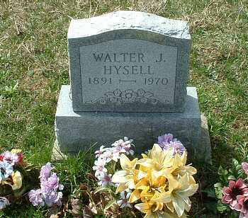 HYSELL, WALTER JAMES - Meigs County, Ohio | WALTER JAMES HYSELL - Ohio Gravestone Photos