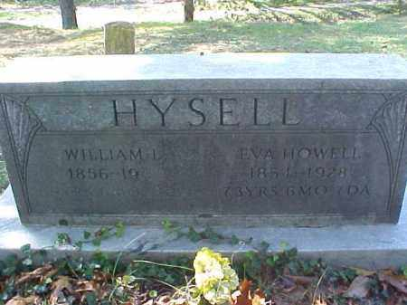 HYSELL, EVA - Meigs County, Ohio | EVA HYSELL - Ohio Gravestone Photos