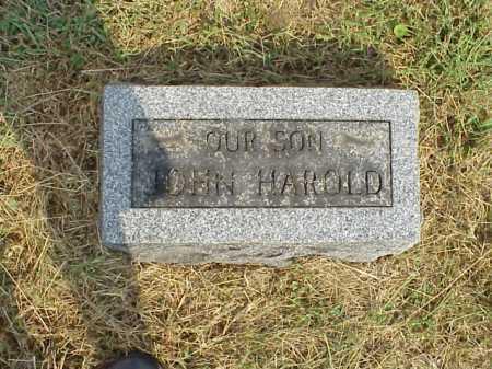 JACKSON ?, JOHN HAROLD - Meigs County, Ohio | JOHN HAROLD JACKSON ? - Ohio Gravestone Photos